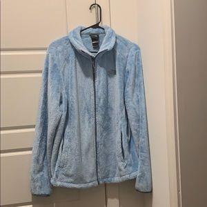 Light blue Northface Jacket